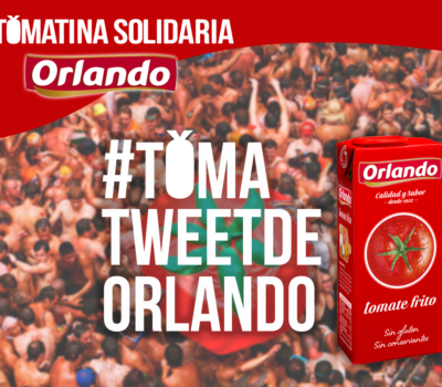TomaTweetdeOrlando Tomatina Solidaria