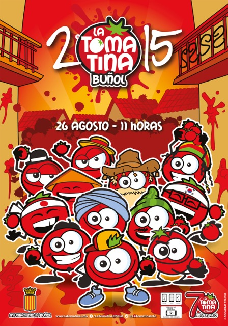 La Tomatina Festival! Take the World and Paint it Red!